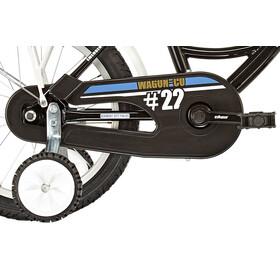 """Vermont City Police - Vélo enfant - 16"""" blanc/noir"""